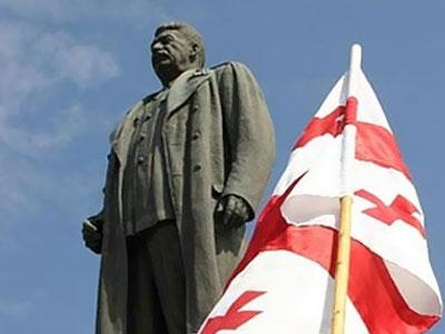 В Телави открыт памятник Иосифу Сталину