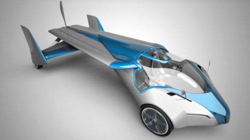 Летающий автомобиль Aeromobil 2.5 впервые поднимается в воздух