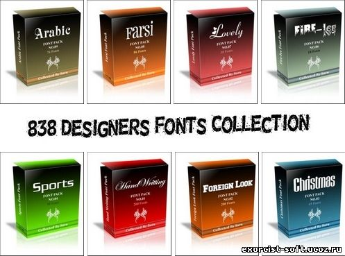 Designers Fonts Collection CWUP