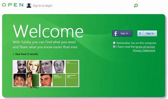 Microsoft работает над новой социальной сетью Tulalip