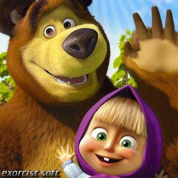 Маша и медведь - 16. Маша + каша