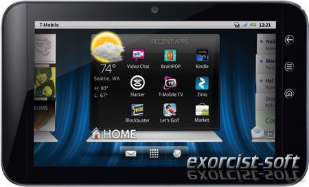 Планшет Dell Streak 7 поддерживает HSPA+