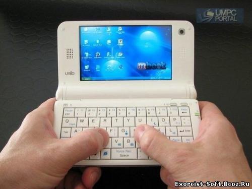 Самый маленький ноутбук Нетбук UMID Mbook