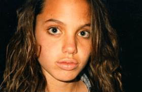 13-летняя Анджелина Джоли